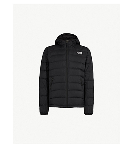 ... Paz hooded shell and down jacket (Tnf+black. PreviousNext 9160449a7