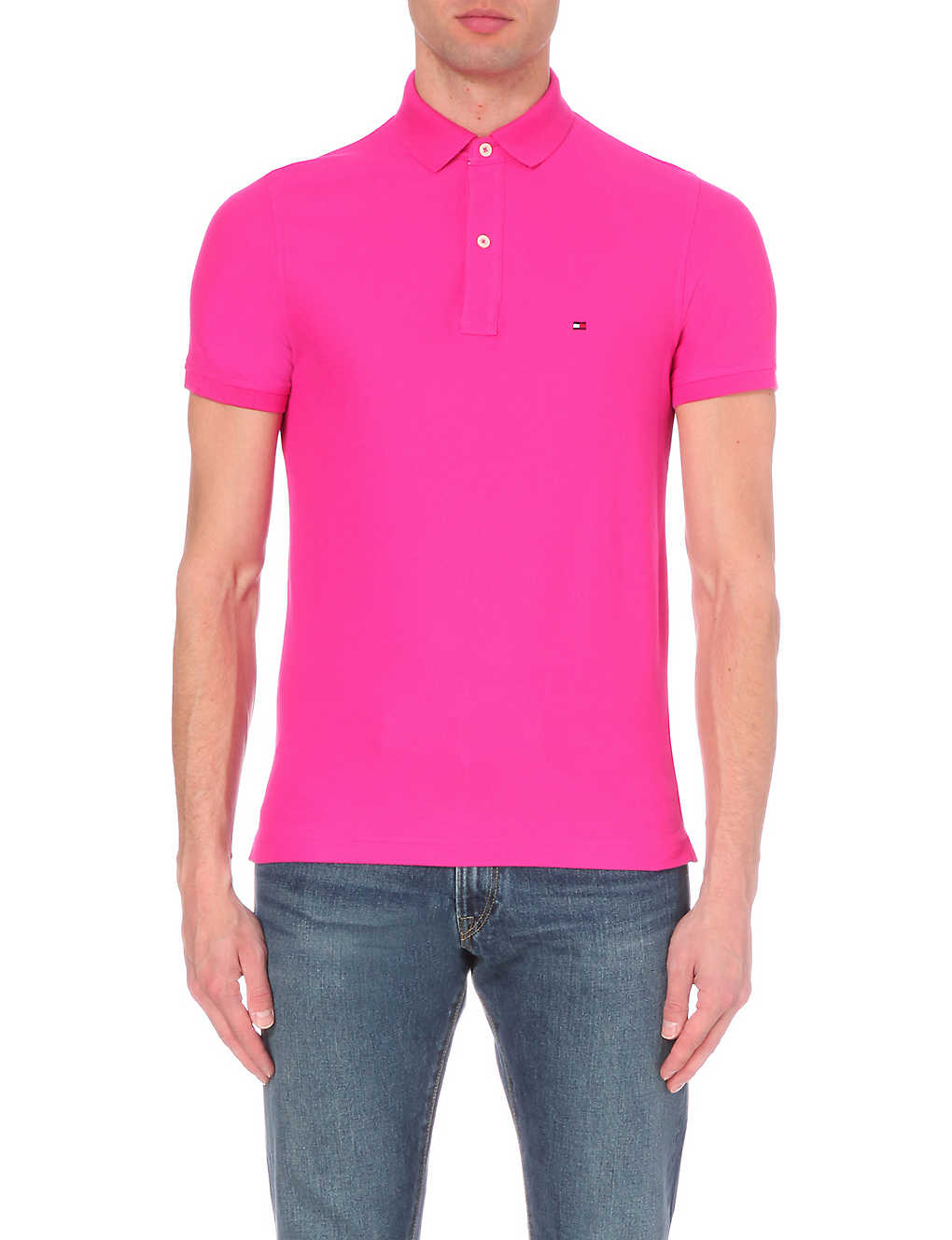 8abbfedf3388 TOMMY HILFIGER - summer regal short-sleeved polo shirt
