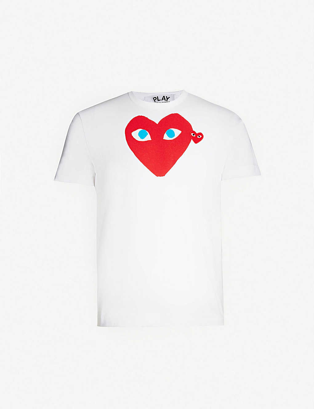 1f65b2ed45877 COMME DES GARCONS PLAY - Heart Eye cotton-jersey T-shirt ...