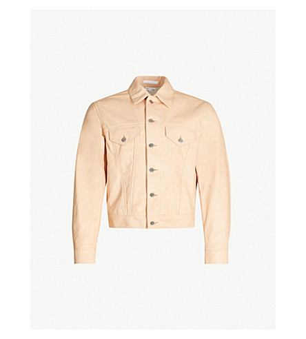 Trucker Leather Jacket by Helmut Lang