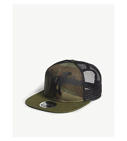 ... NEW ERA New York Yankees camouflage mesh snapback cap (Woodland+camo.  PreviousNext e650c1e1abd