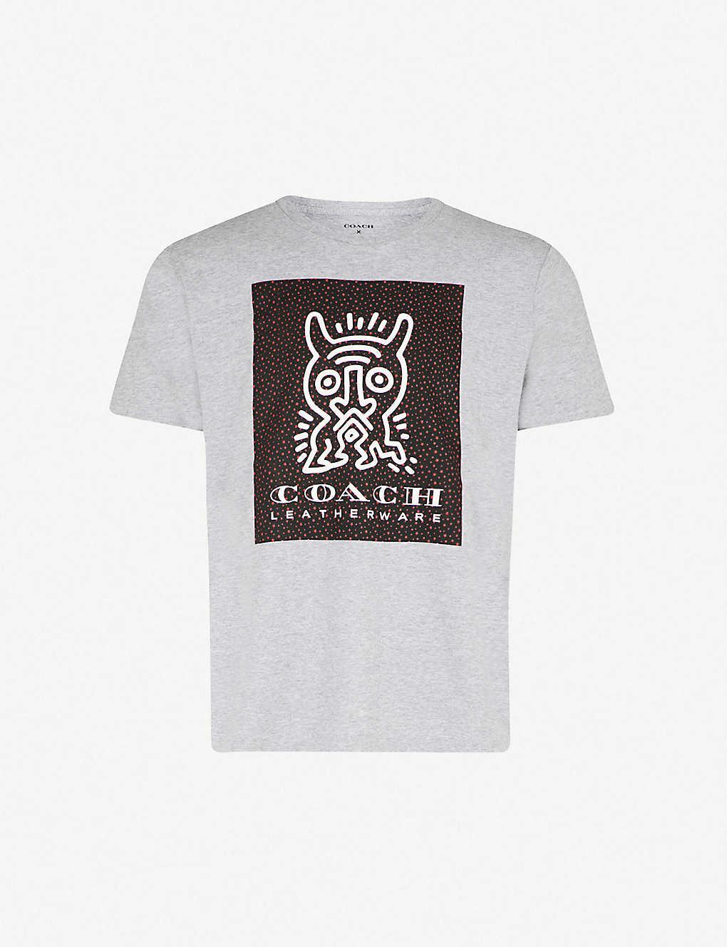 COACH 1941 - Coach X Keith Haring Monster cotton T-shirt ... c8fbf6ce9cc