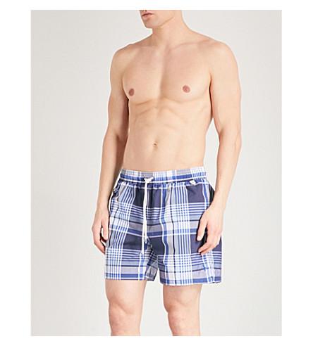 f7b0cecdc ... promo code for polo ralph lauren traveller checked swim shorts  navymulti. previousnext 4e0dd af184 ...
