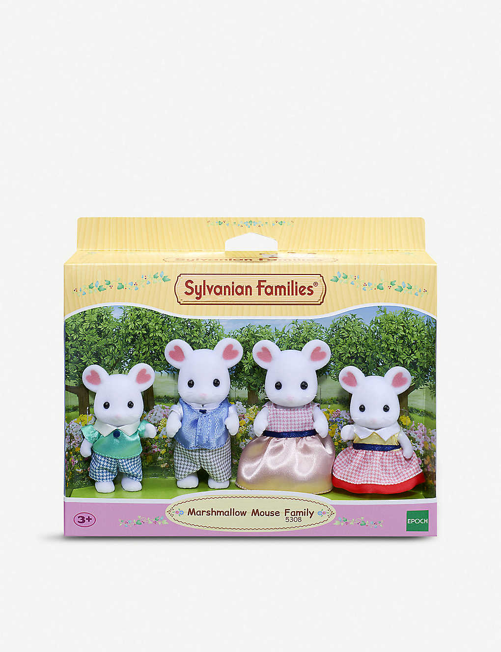 Sylvanian Families Marshmallow Mouse Family Walnut Squirrel No Recent Searches