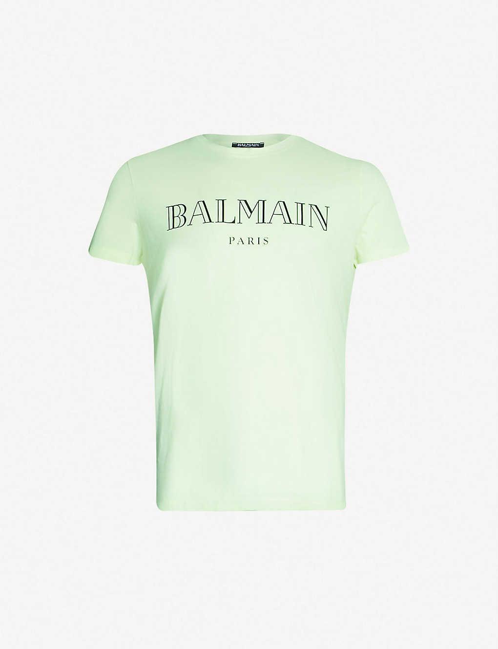 6ce86627b7655e Cotton T Shirt With Balmain Logo Print « Alzheimer's Network of Oregon