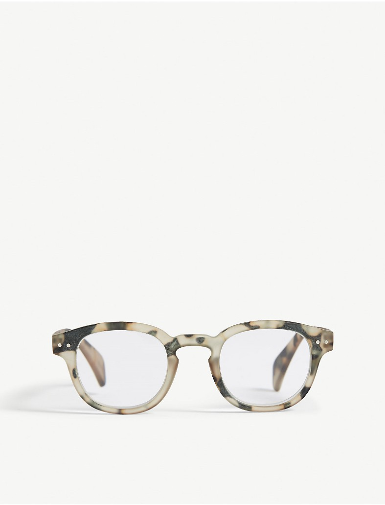 b2d615f52f IZIPIZI - Letmesee  C Tortoiseshell square-frame reading glasses +2.50