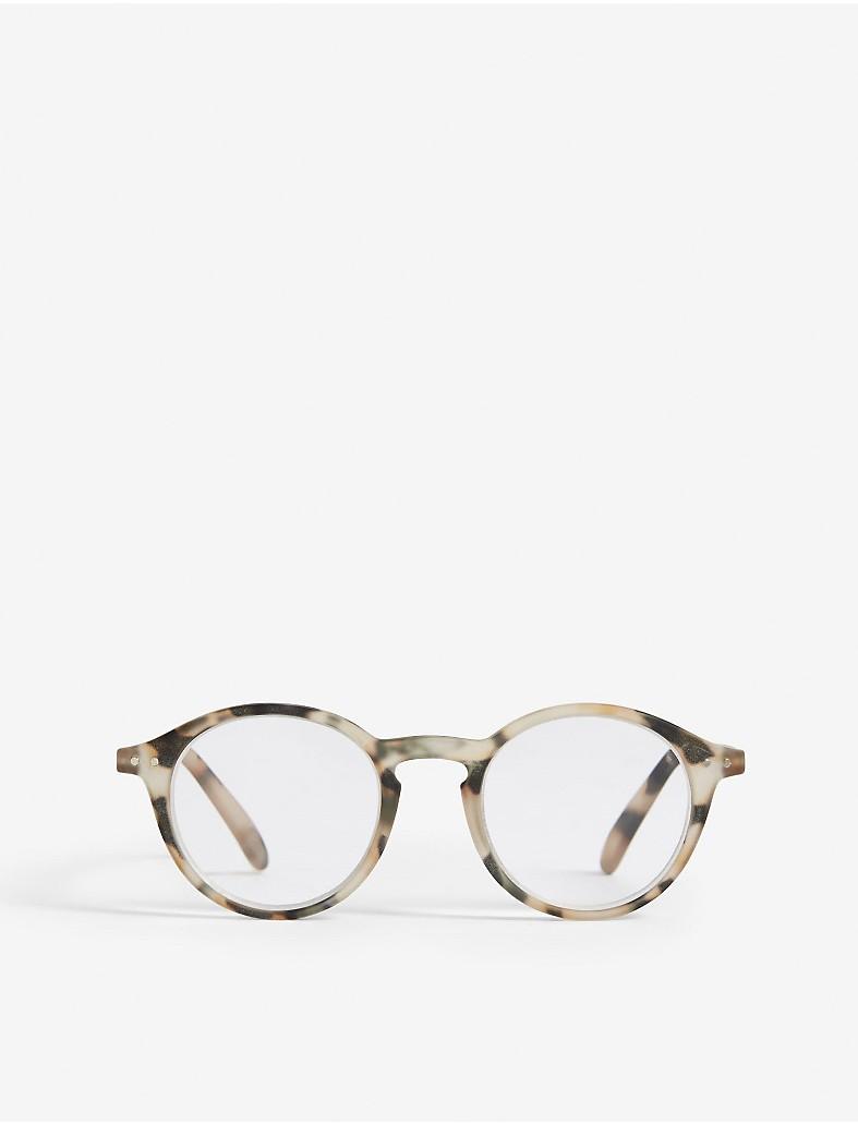 e4743ca00f IZIPIZI - Letmesee tortoiseshell-print round-frame reading glasses + ...