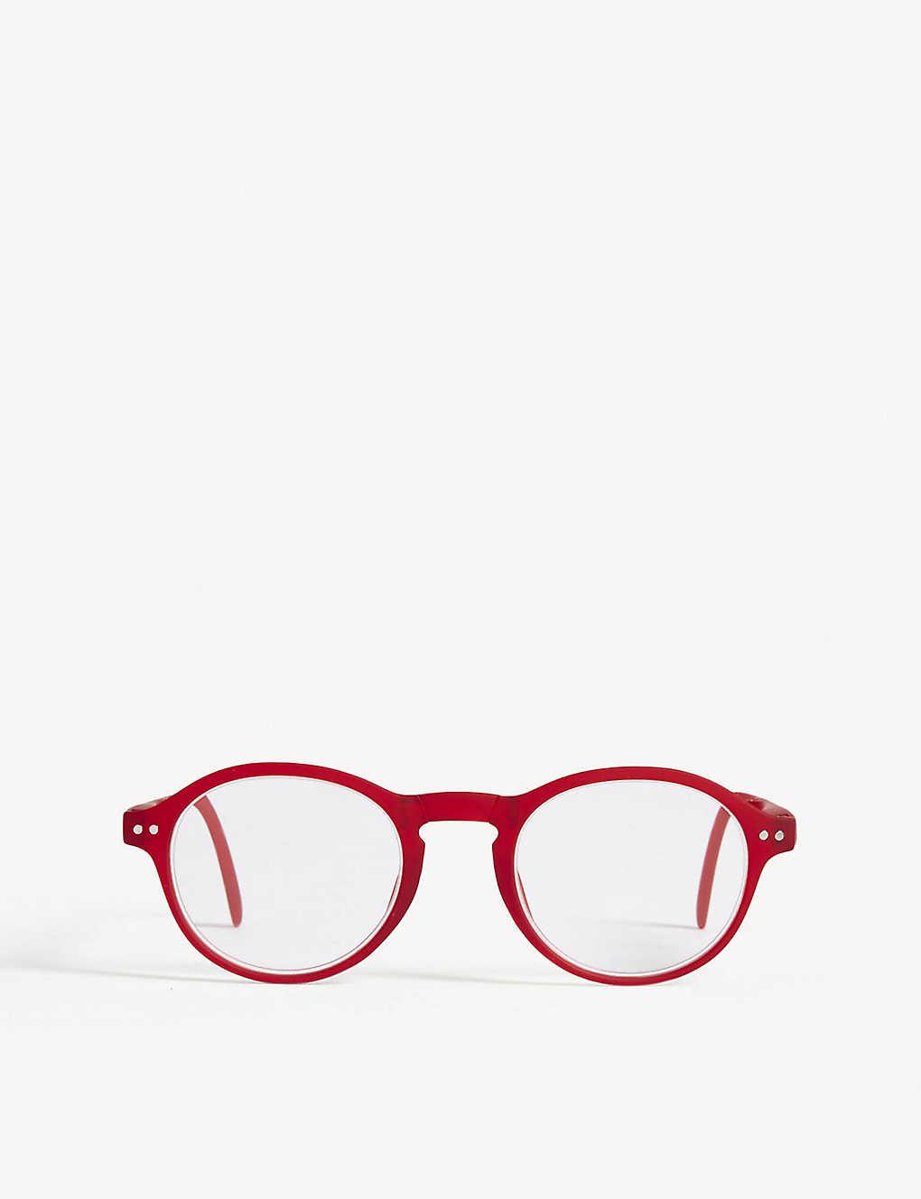 0231a67b59 IZIPIZI - Letmesee  F round-frame foldable reading glasses +1.0 ...
