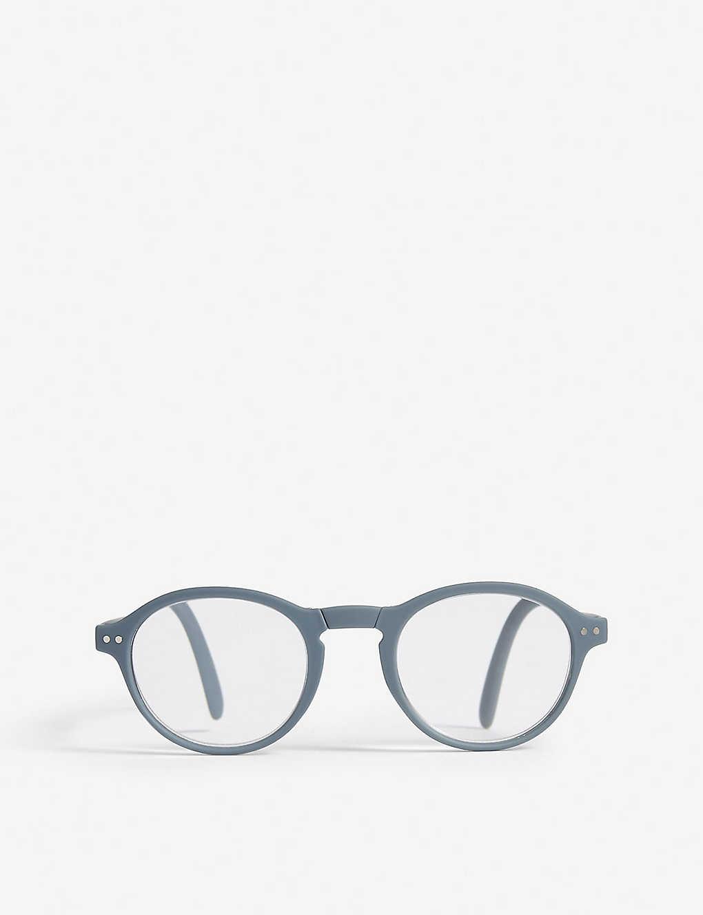 3a13d38b48 IZIPIZI - Letmesee  F round-frame foldable reading glasses +2.5 ...