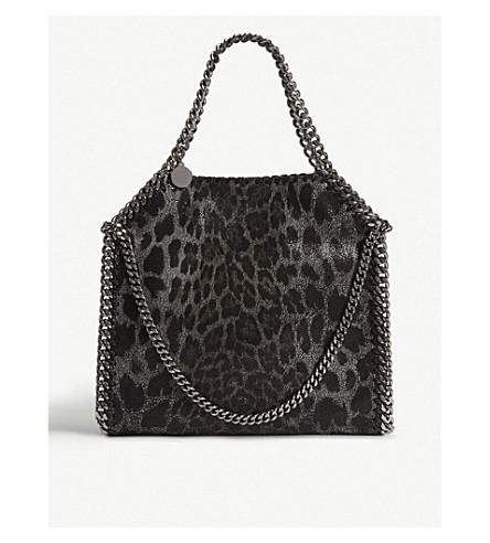 339a47eb83 ... STELLA MCCARTNEY Falabella Baby Bella faux-suede shoulder bag (Leopard.  PreviousNext