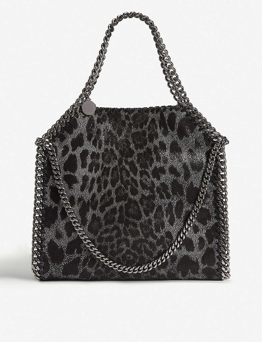 STELLA MCCARTNEY - Falabella Baby Bella faux-suede shoulder bag ... c0285b7f36589