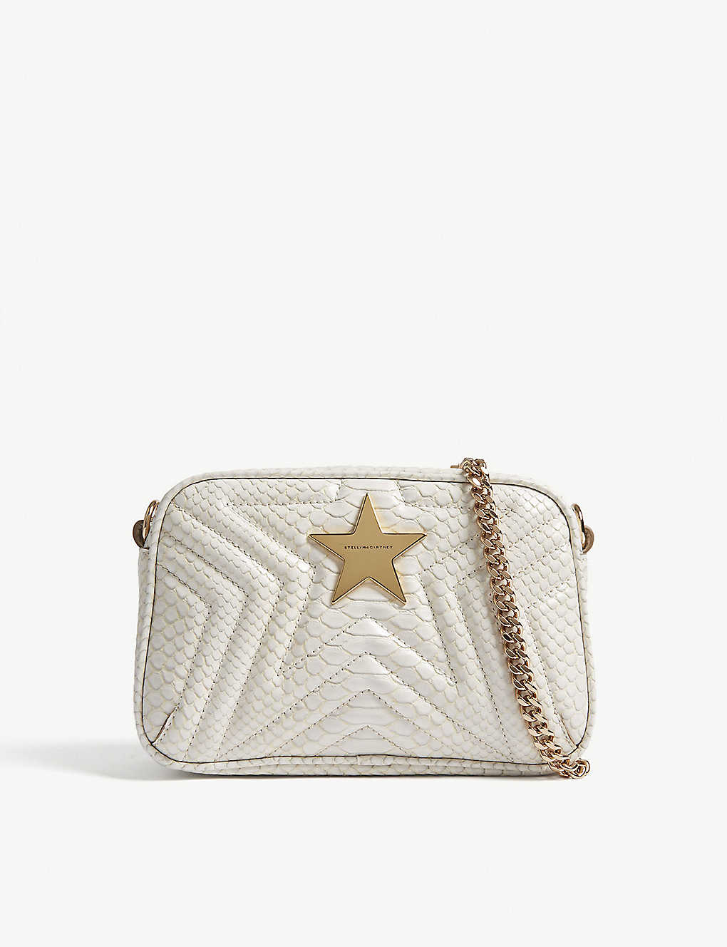 STELLA MCCARTNEY - Small quilted star camera bag  8d9a00b5052cd