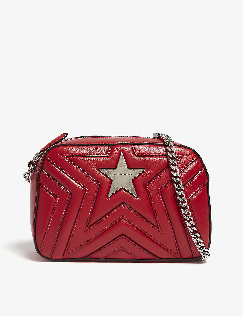 STELLA MCCARTNEY - Stella Star quilted faux-leather cross-body bag ... 6e2d1ff2bde03