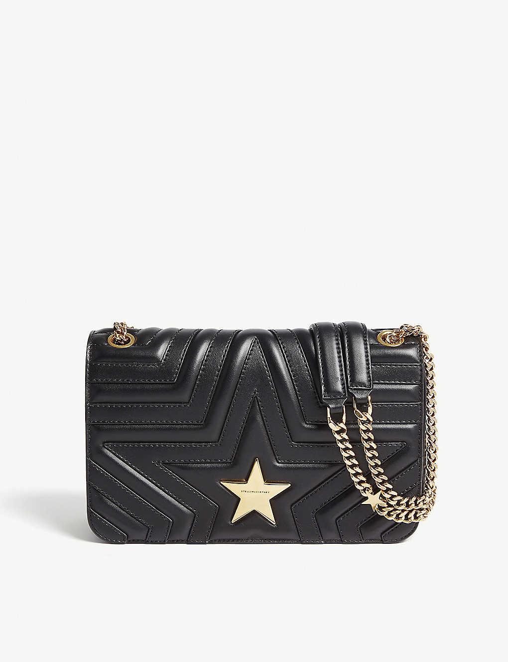 STELLA MCCARTNEY - Quilted star shoulder bag  521ab29760548