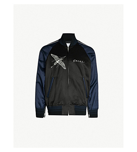 Dr. Woo Cotton Blend Jacket by Sacai