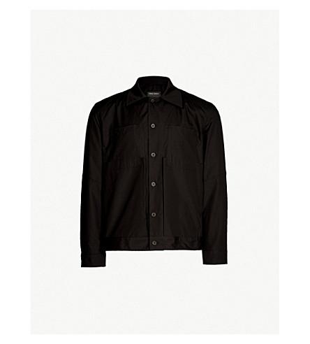 Regular Fit Cotton Poplin Worker Shirt by Craig Green