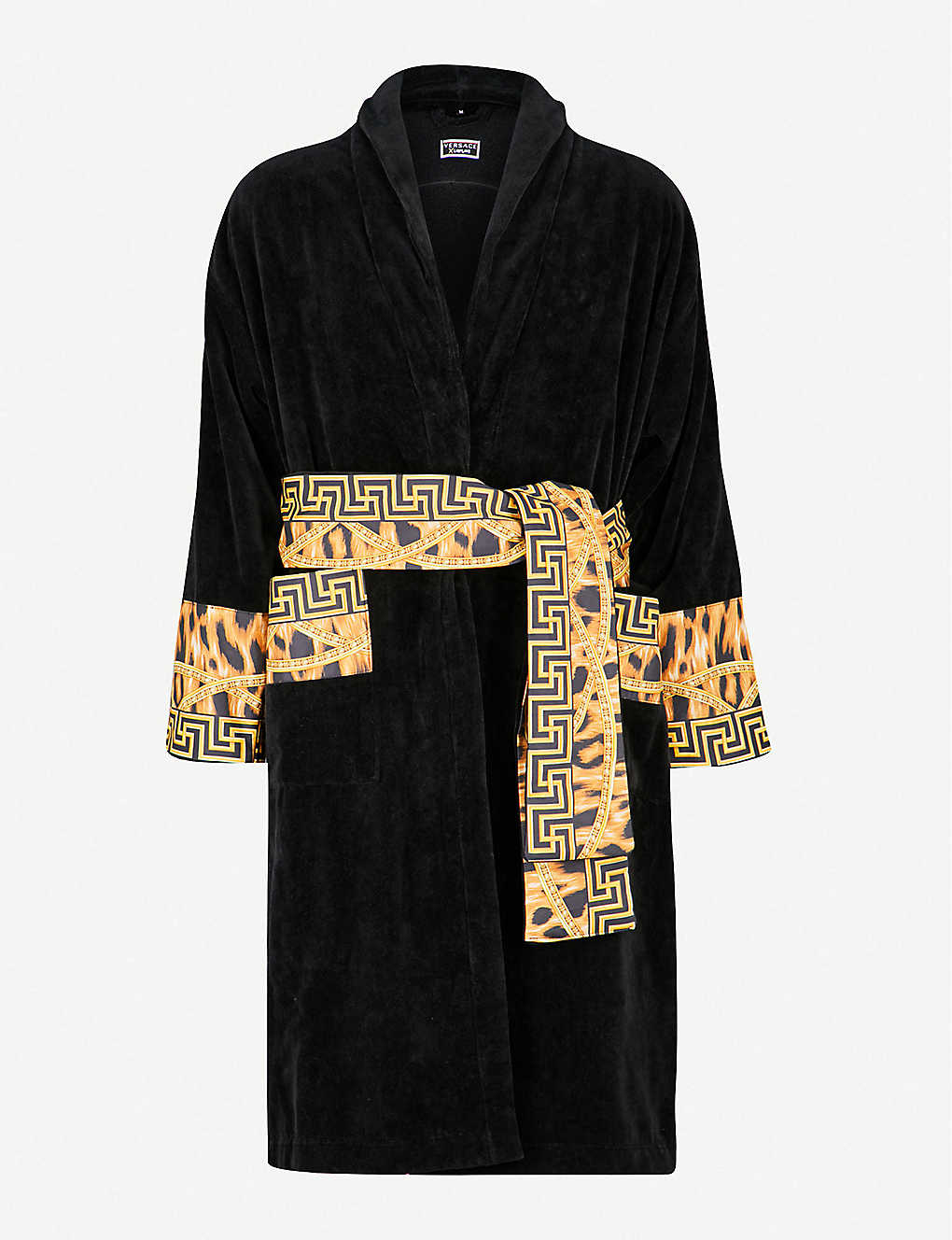 d37190c4fd VERSACE - Lamyland printed cotton dressing gown