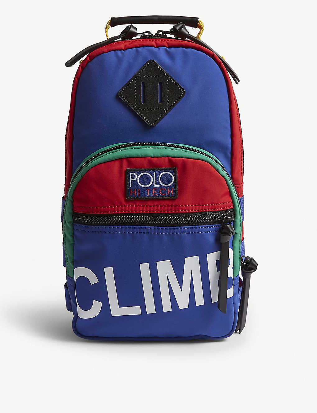 9c2cca0ca893 POLO RALPH LAUREN - Hitech sling crossbody bag
