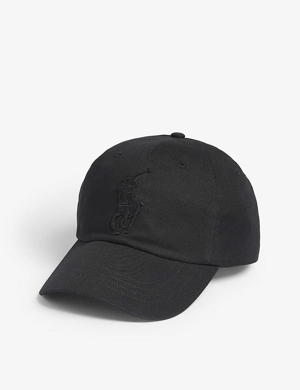 de9b97e4ce0 POLO RALPH LAUREN - Embroidered logo cotton cap