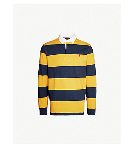 bb01980bd46f POLO RALPH LAUREN - Striped cotton-jersey rugby shirt