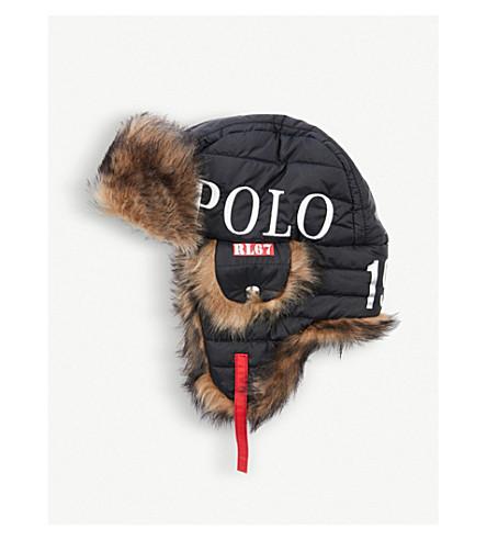 d74d8c6cd6d ... POLO RALPH LAUREN Winter Stadium 1992 Explorer shearling hat (Polo+black.  PreviousNext