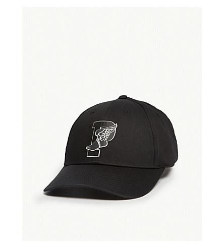 56af07dc7b0 ... POLO RALPH LAUREN P-wing logo cap (Black. PreviousNext