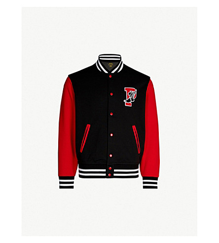 Stretch Jersey Varsity Jacket by Polo Ralph Lauren