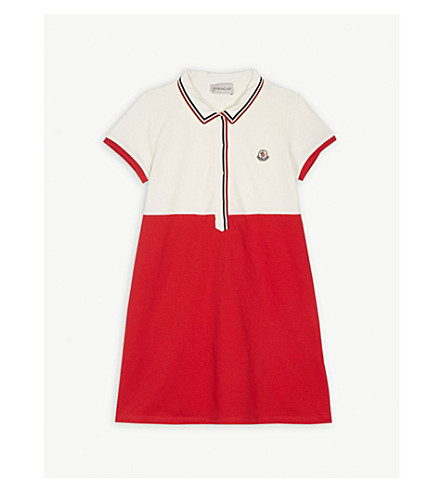 6a663c535 MONCLER - Polo dress 4-14 years