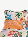 523bafecae4 ... KENZO Hawai print cotton bucket hat 9-24 months (Light+pink ...