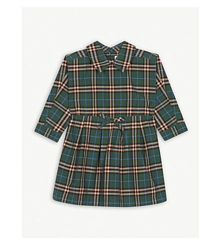 320d2964b BURBERRY - Check cotton drawcord dress (6-36 months)
