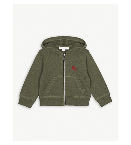 3de8ac43c125a BURBERRY - Equestrian Knight cotton-jersey hoody 6 months – 2 years ...