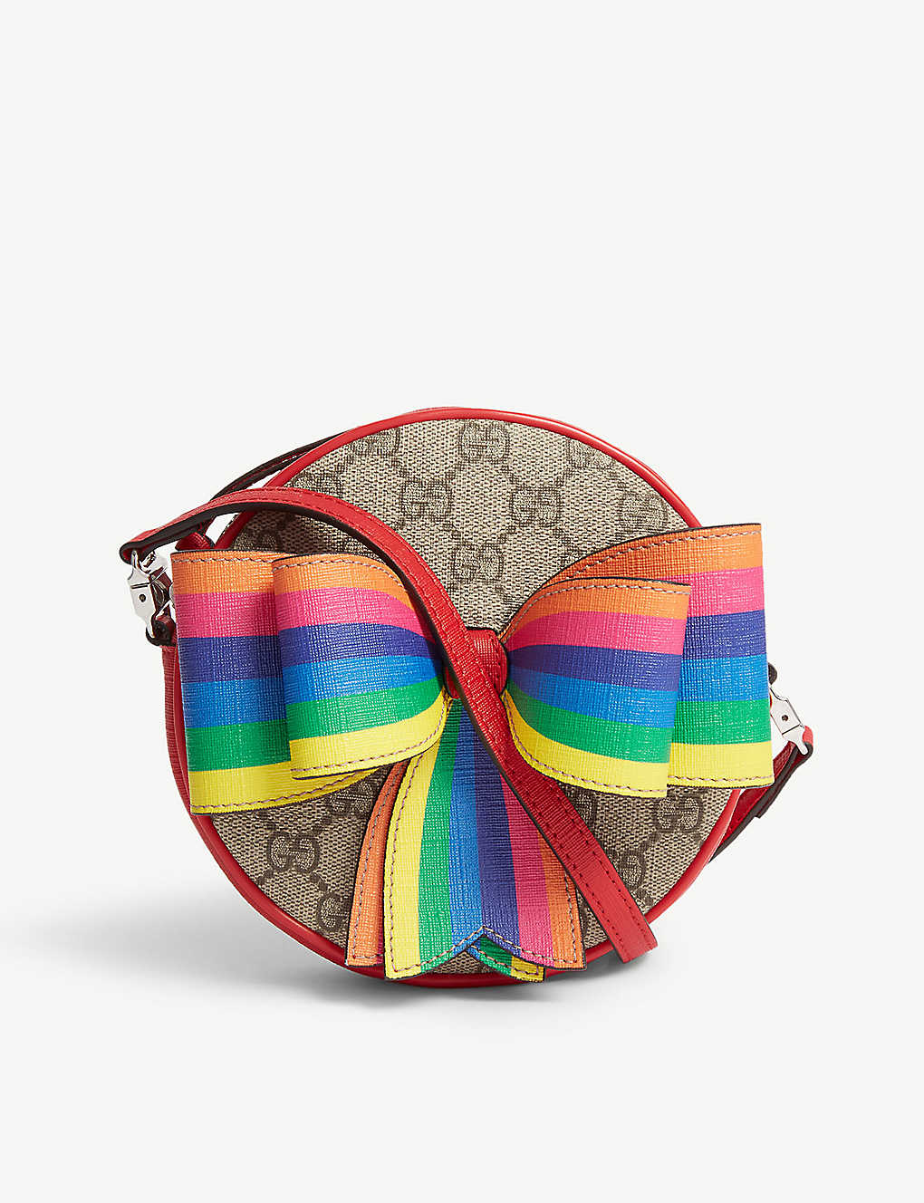 ba15acbba83b GUCCI - GG Supreme rainbow cross-body bag | Selfridges.com