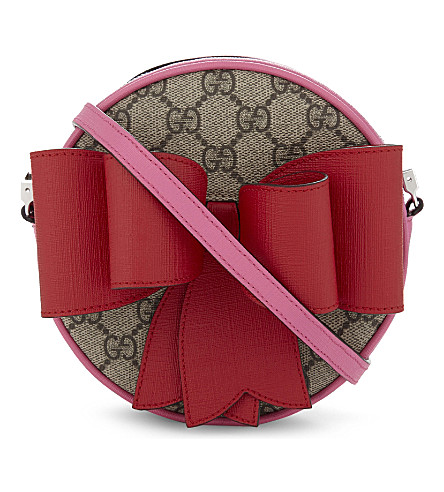 65187ee8259 gg-supreme-bow-cross-body-bag by gucci
