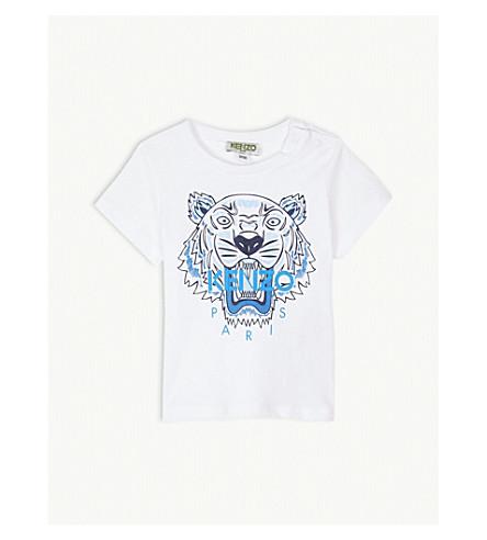 5780738f ... KENZO Tiger logo T-shirt 6-18 months (Optic+white. PreviousNext