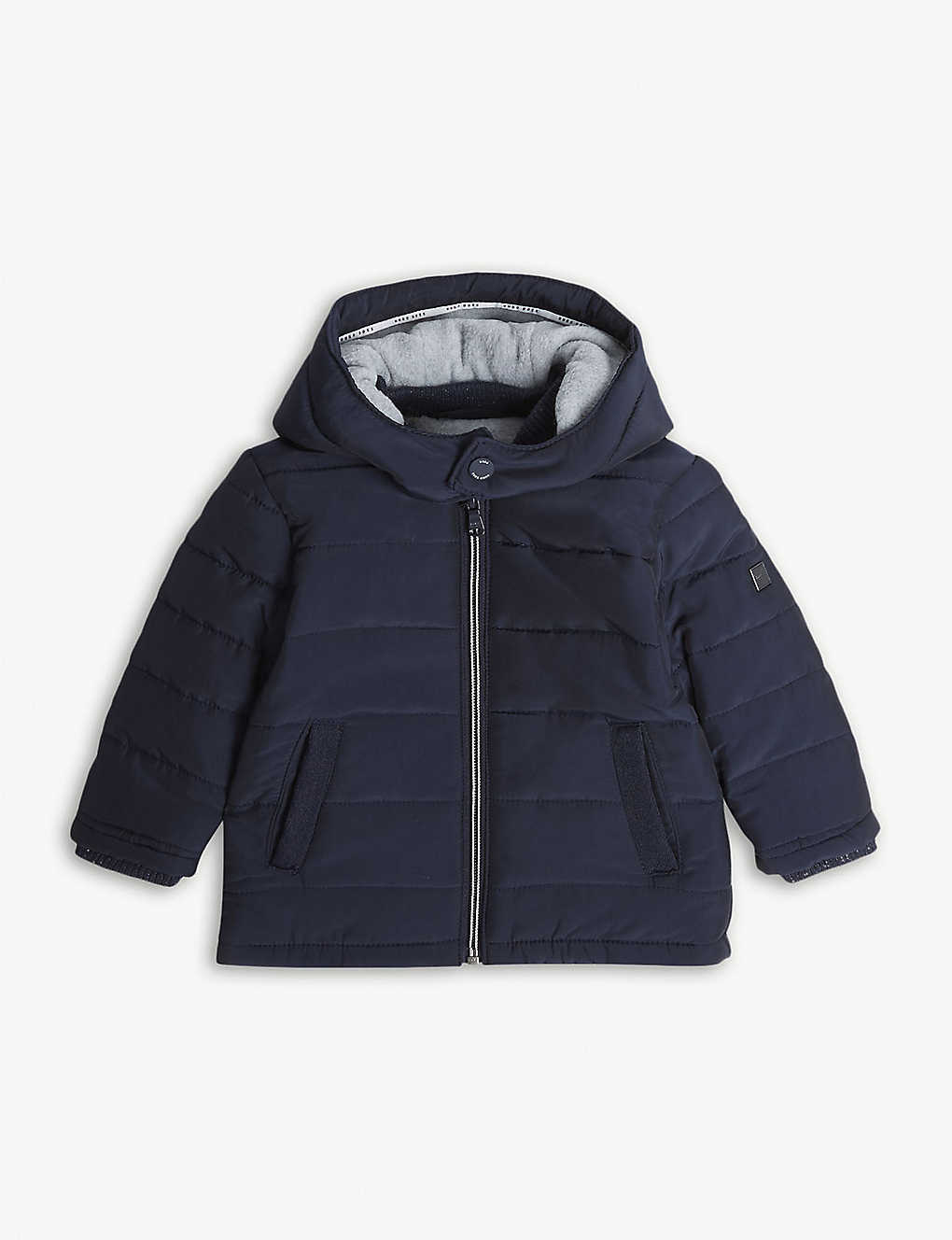 cab091ceb BOSS - Logo quilted coat 6-36 months