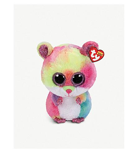 TY - Beanie Boo Rodney hamster soft toy 10cm  2c05be3dd72