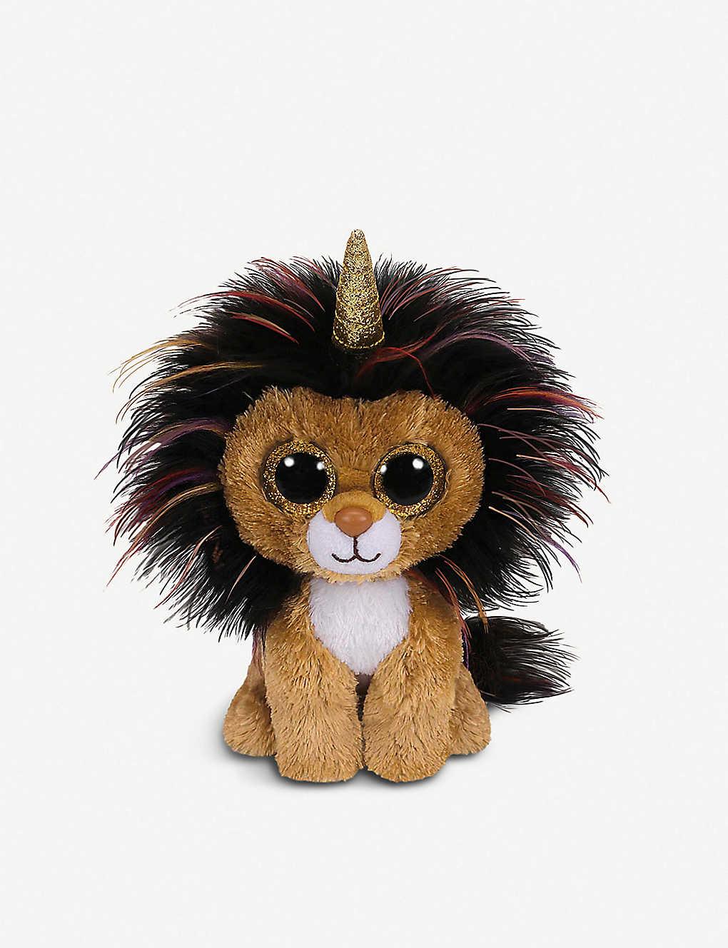 TY - Beanie Boo Ramsey lion soft toy 10cm  7771e6407016
