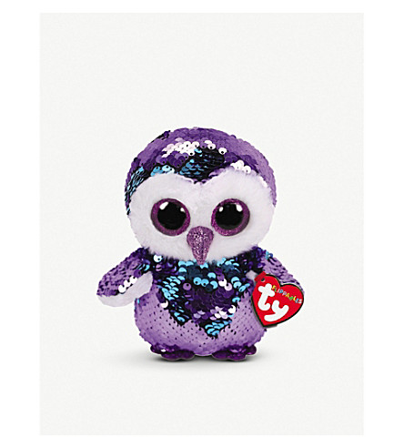 f44a78a7380 TY - Moonlight Flippable sequin beanie boo 10cm