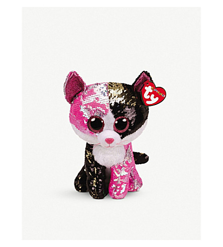 06acc629ec2 TY - Malibu Flippable medium sequin beanie boo 15cm