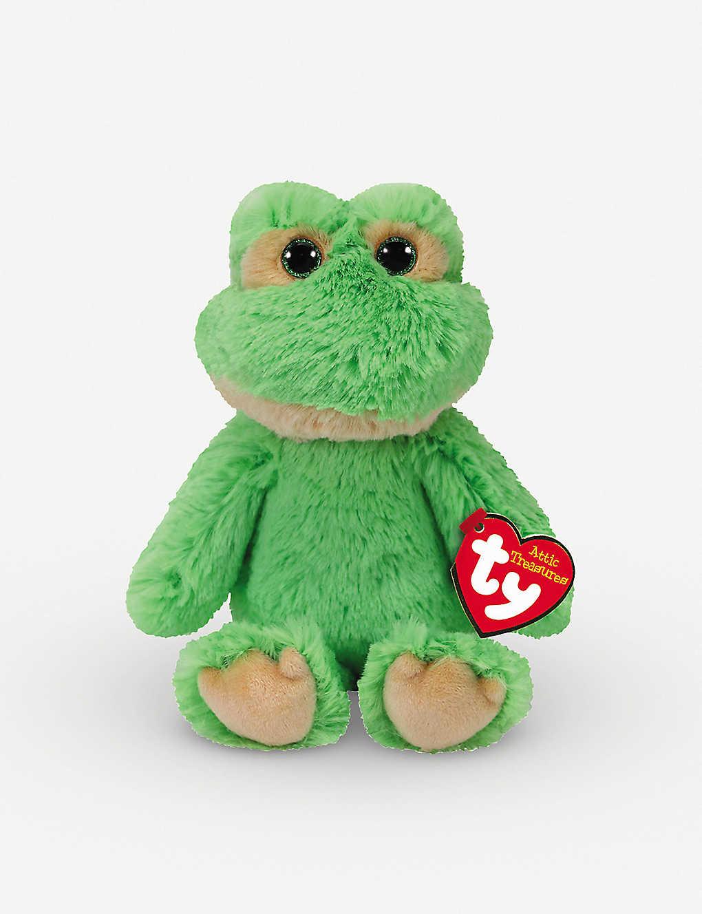 ATTIC TREASURES - Ty Floyd the Frog plush beanie baby 15cm ... 82ddd4660b9