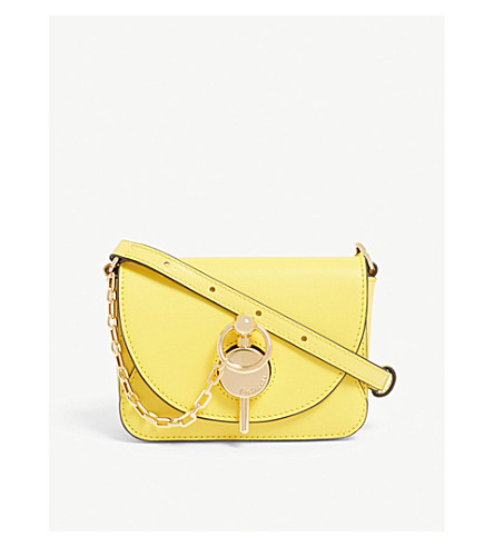 Yellow Cross Body