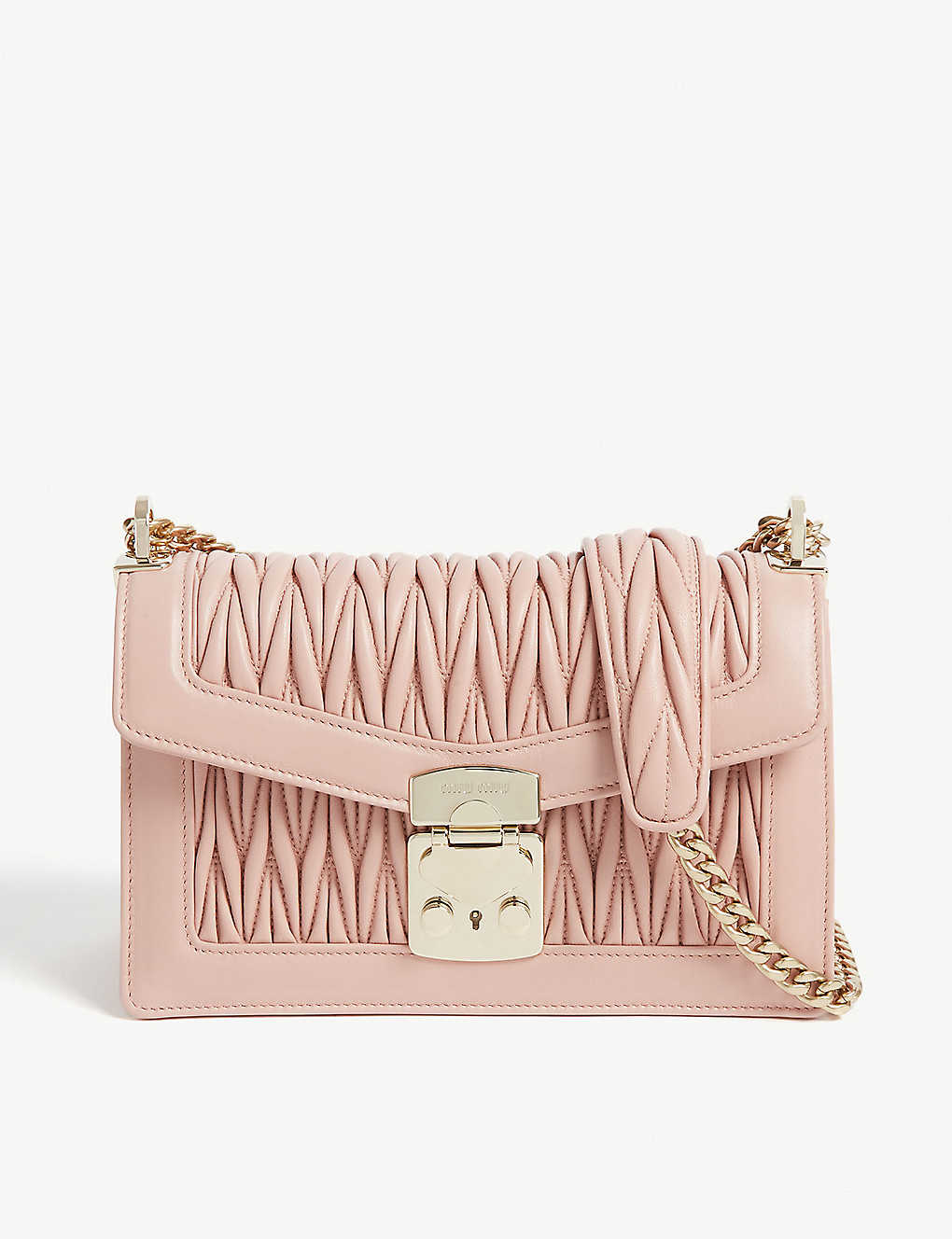 776eefaa7d3a MIU MIU - Confidential leather shoulder bag