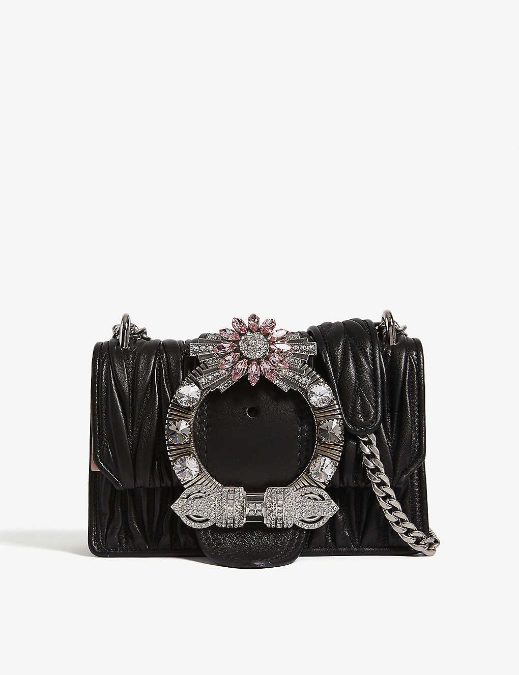 7522386a42eb MIU MIU - Miu Lady matelassé leather shoulder bag
