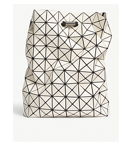 ... BAO BAO ISSEY MIYAKE Wring prism backpack (Ivory. PreviousNext 93c6540dc703c
