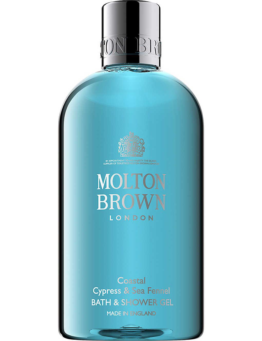 22b49df7bb75 MOLTON BROWN - Coastal Cypress   Sea Fennel Bath   Shower Gel 300ml ...