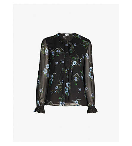 Beflower Crepe Shirt by Claudie Pierlot