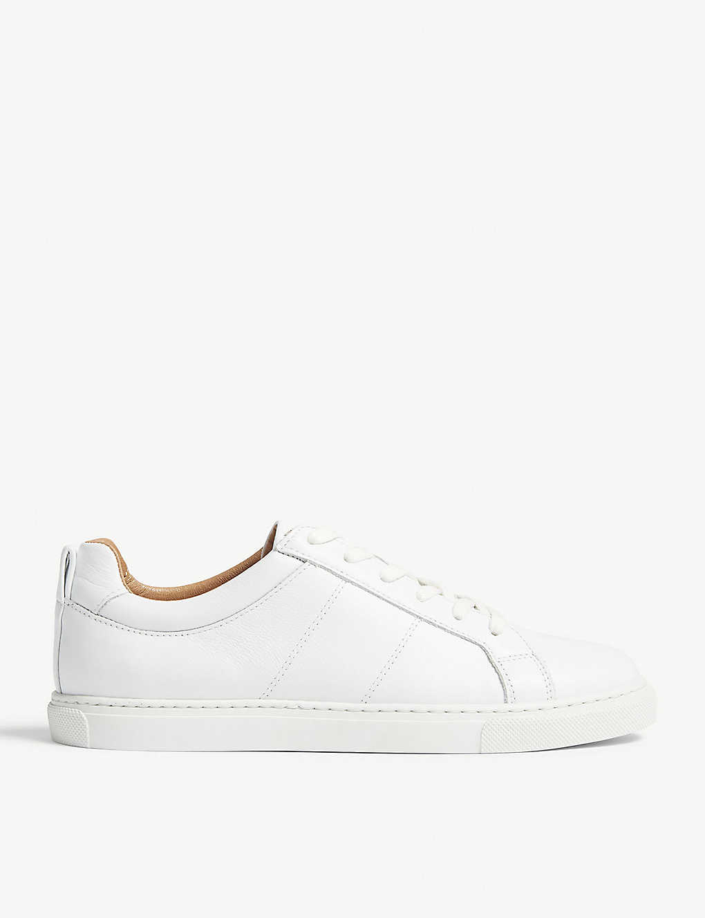 b3adc605696145 WHISTLES - Koki leather low-top trainers