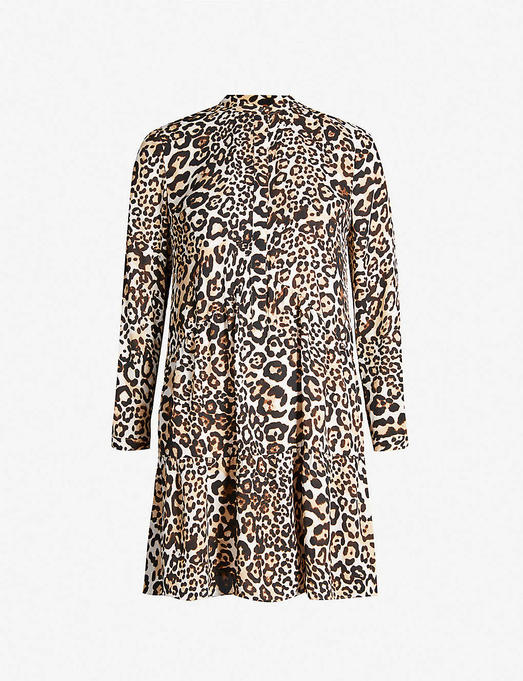 a4a069e2c2593 WHISTLES - Animal print shirt dress