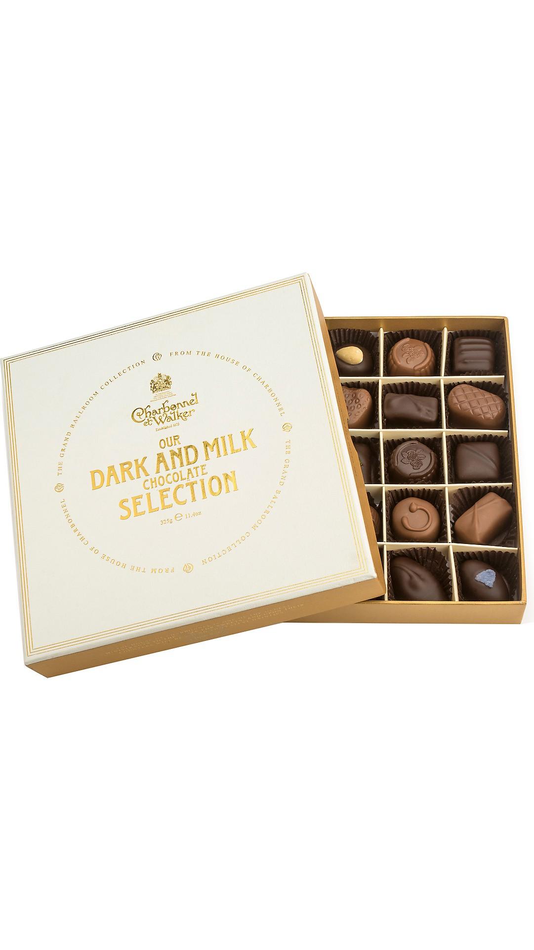 0b8a3f19a5 CHARBONNEL ET WALKER - The Grand Ballroom Fine Dark   Milk Chocolate ...