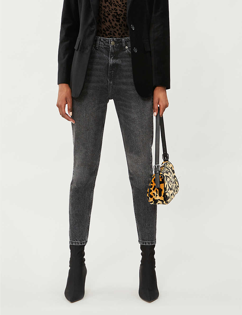 545bbd01f7 THE KOOPLES - Sequin heart-embellished slim-fit mid-rise jeans ...